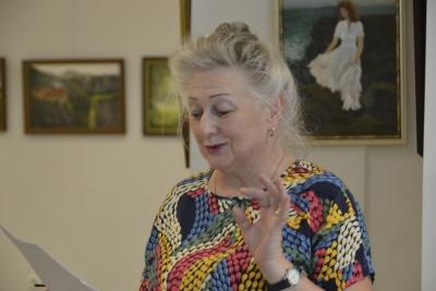 """""""Świat Anny pędzlem malowany""""- wystawa malarstwa Anny Gaudnik 4"""