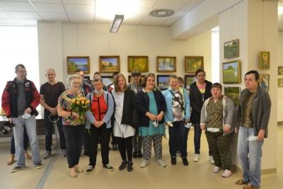 """""""Świat Anny pędzlem malowany""""- wystawa malarstwa Anny Gaudnik 3"""