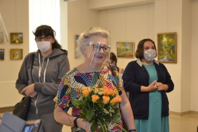 """""""Świat Anny pędzlem malowany""""- wystawa malarstwa Anny Gaudnik 2"""